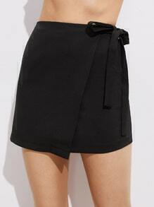 Wrap Self Tie Waist Skirt