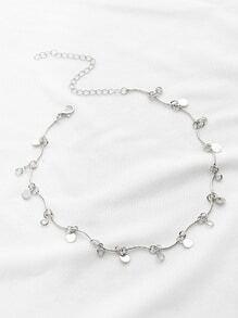 Sequin Delicate Chain Choker