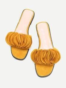 Sandales pétaloïde à étages