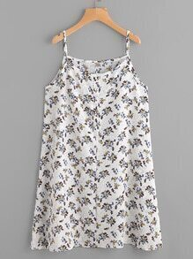 Ditsy Print Cami Dress