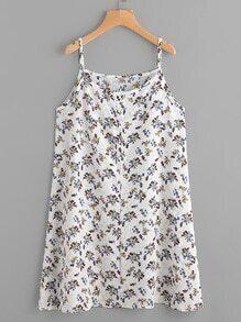 Ditsy Print Cami Dress