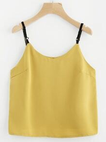 Adjustable Strap Cami Top