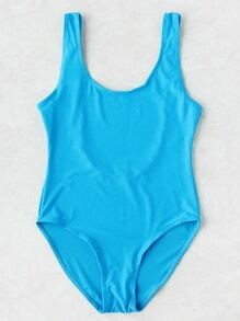Scoop Neck Beach Swimsuit