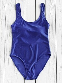 High Leg Scoop Swimsuit