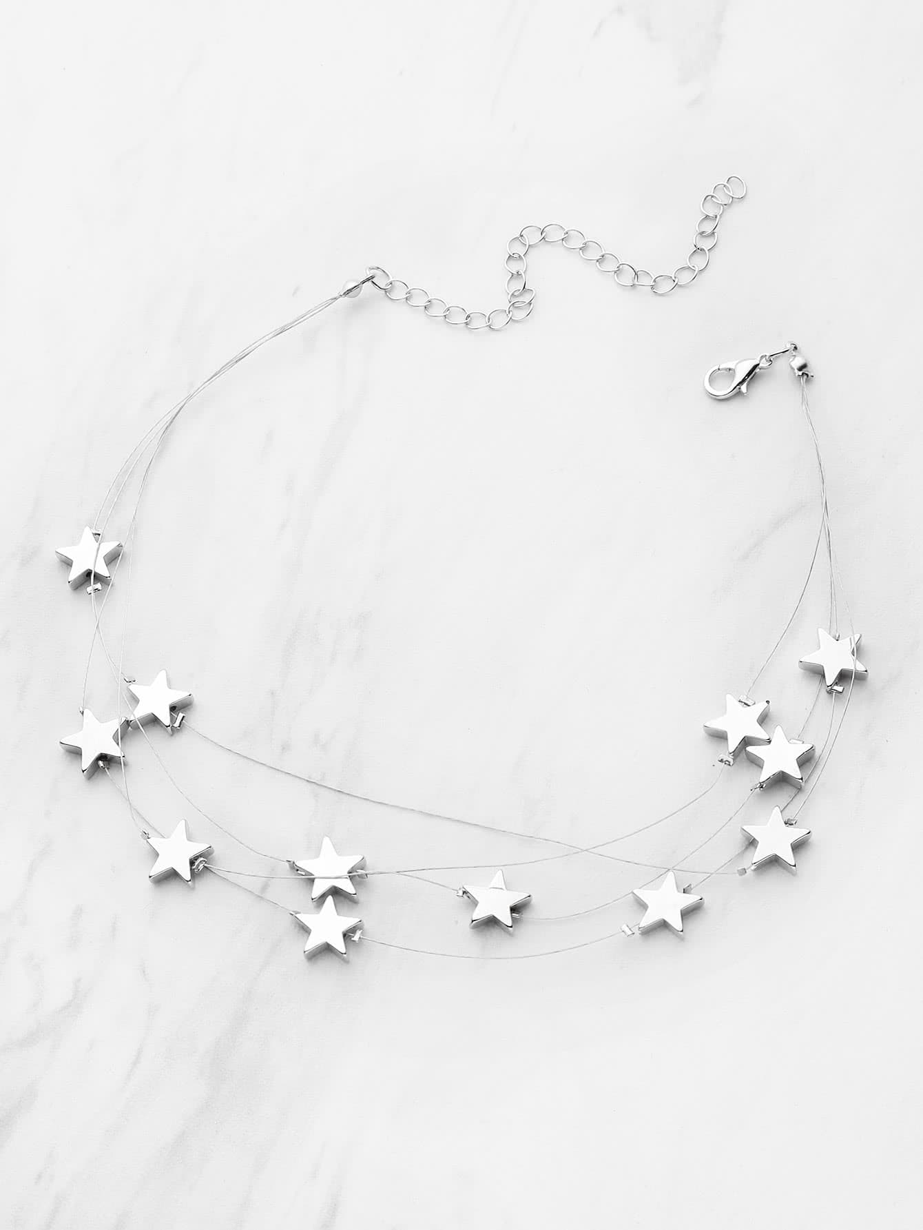 of sterling links necklace hires four star us point london splendour en jewellery silver