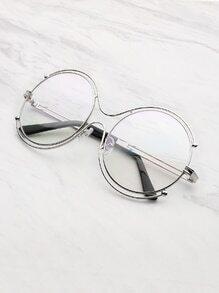 Double Frame Round Lens Glasses