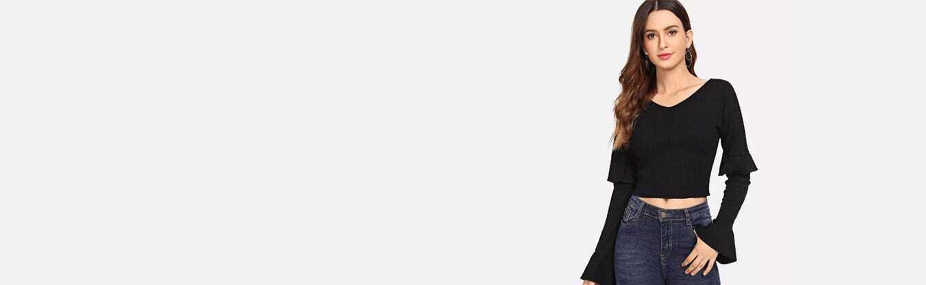 T-shirts, Les t-shirts femmes à petits prix soldes   Romwe.com ec2759c068d4