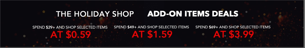 ROMWE2018BLACKFRIDAY US Add-on items